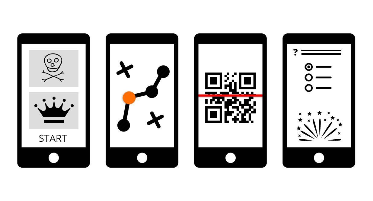 Freizeitpark App Vorteil: Interaktiver Fragebogen